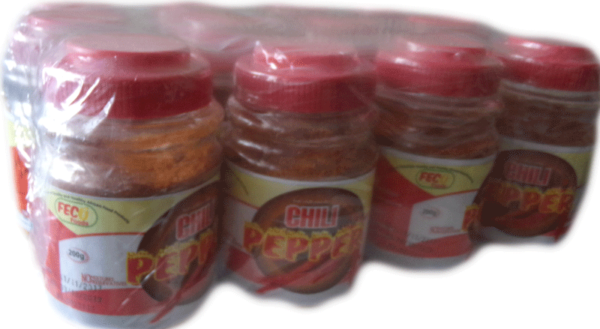 Hot Chili Pepper Powder 12 Packs