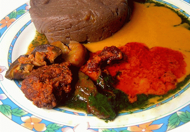 Amala, Ewedu and Gbegiri